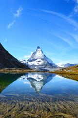 Matterhorn, Riffelsee