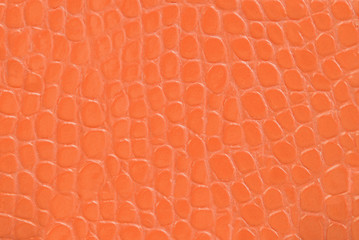 orange embossed leather texture background
