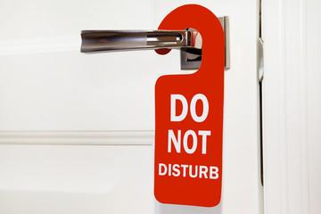Hotel do not disturb busy