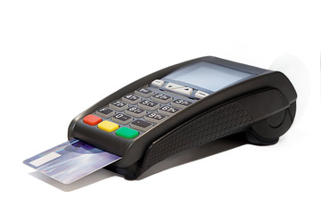 Card reader cashless payments