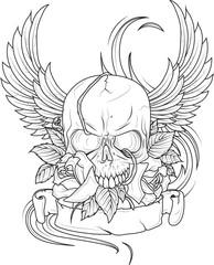 tatuaggio teschio