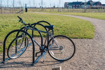 Park bike rack