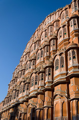 Hawa Mahal palace or Palace of the Winds in Jaipur