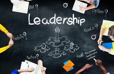 Leadership Director Planning Goal Management Concept