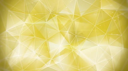 gold web geometrical background loop 4k (4096x2304)