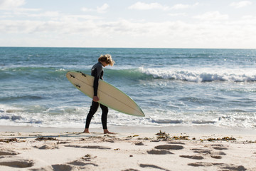 I will surf today