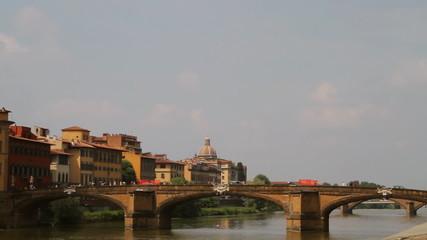 Florence Arno River Bridge