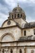 Cathedral of St. James in Sibenik, Croatia.
