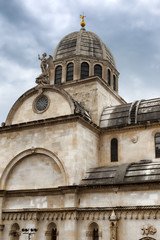 Cathedral of St. James in Sibenik, Croatia.