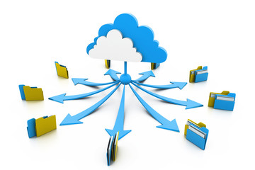 Cloud computing data storage