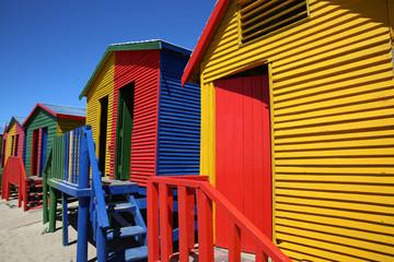 St. James Beach Huts. Cape Town