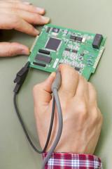 Testing Circuit Board