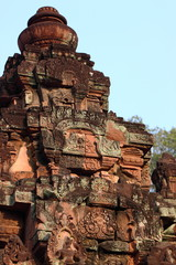 Temple Banteay Srei in Angkor