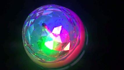 Laser Bulb colour show