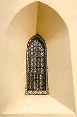 Window in Basilica of the Assumption of the Blessed Virgin Mary