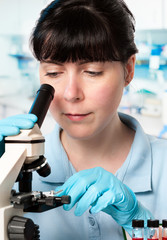 Young microscopist