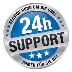 24h Support - Service rund um die Uhr! Immer für Sie da!