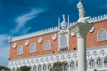 European style building.