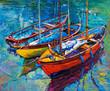 Leinwandbild Motiv Boats