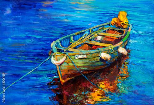 Leinwandbild Motiv Boat