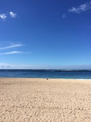 Nobody on the beach