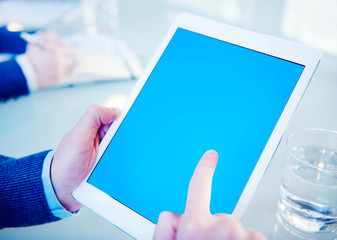 Digital Device Online Internet Tablet Technology Concept