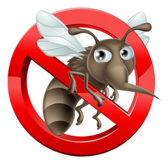 No Mosquito sign 2014 A3