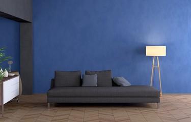 Wohnung mit Sofa