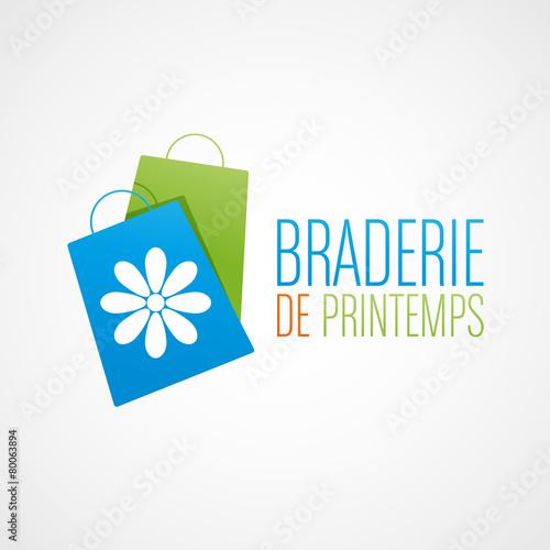 Zdjęcia na płótnie, fototapety, obrazy : braderie de printemps