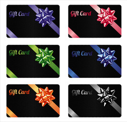 Gift card set.Different nominations.