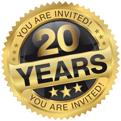 20 years - you are invited!