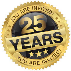 25 years - you are invited!