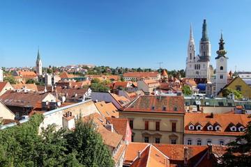 Capital of Croatia Zagreb, Upper town