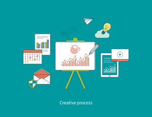 Concepts of creative process and data protection