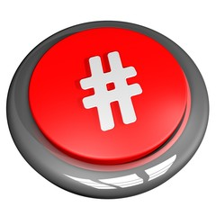 Hashtag button
