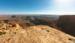 canvas print picture - Wilderness Landscape in Utah