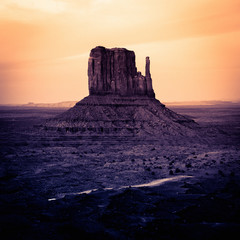 Monument Valley at Sunset in Utah