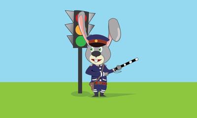 Заяц Инспектор