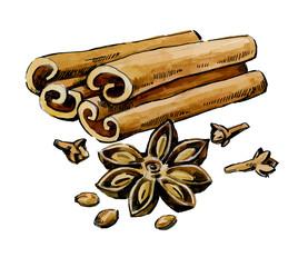vector cinnamon