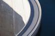 Leinwanddruck Bild - Dam wall