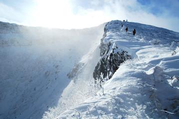 厳冬の八ヶ岳「硫黄岳」
