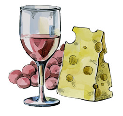 picture of wine