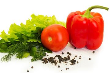 vegetables, dietary salad