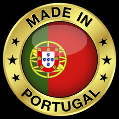 Portugal Made In Badge