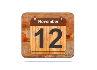 November 12.