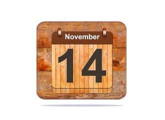 November 14.