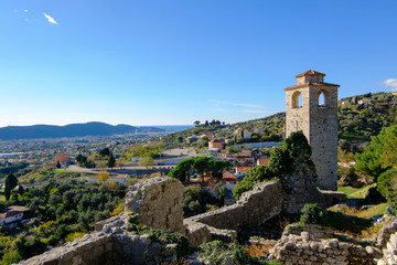 Clock Tower in Stari Grad Bar, Montenegro