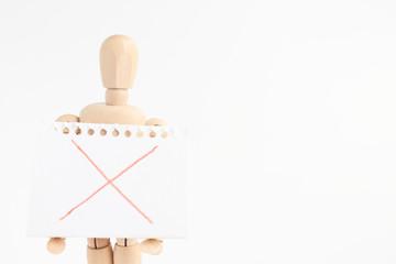 デッサン人形とスケッチブック