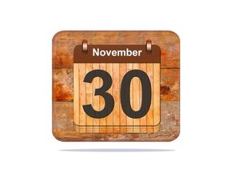 November 30.