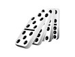 Falling dominoes, vector illustration - 80077698